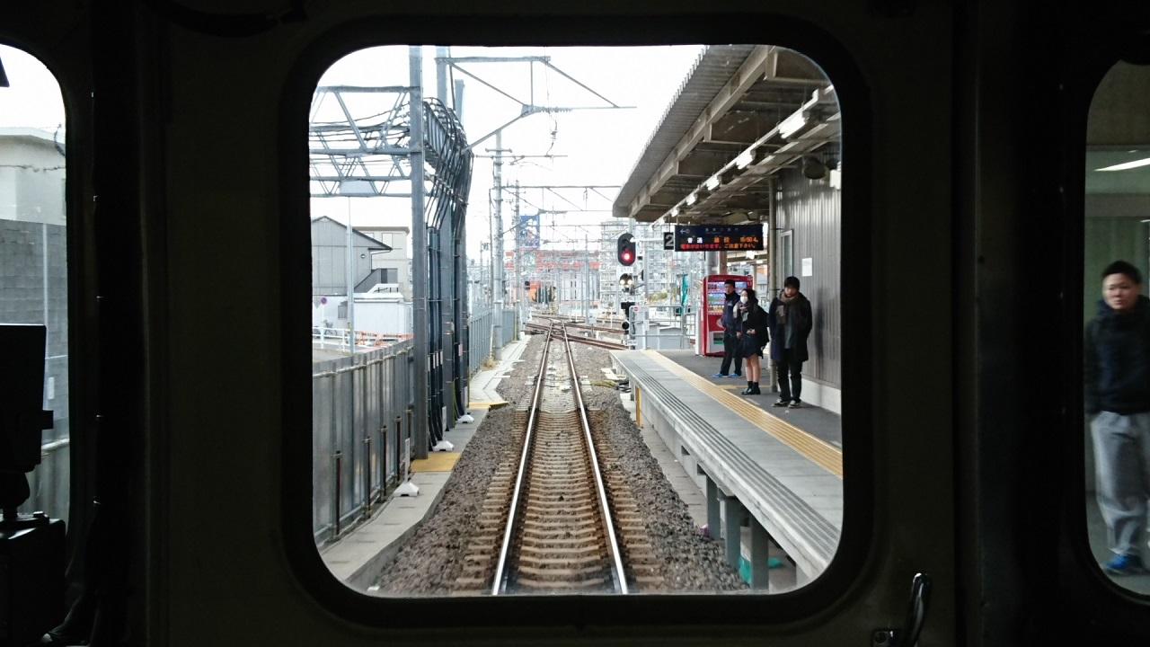 2018.2.5 三河線かえり (10) 知立いきふつう - 知立 1280-720