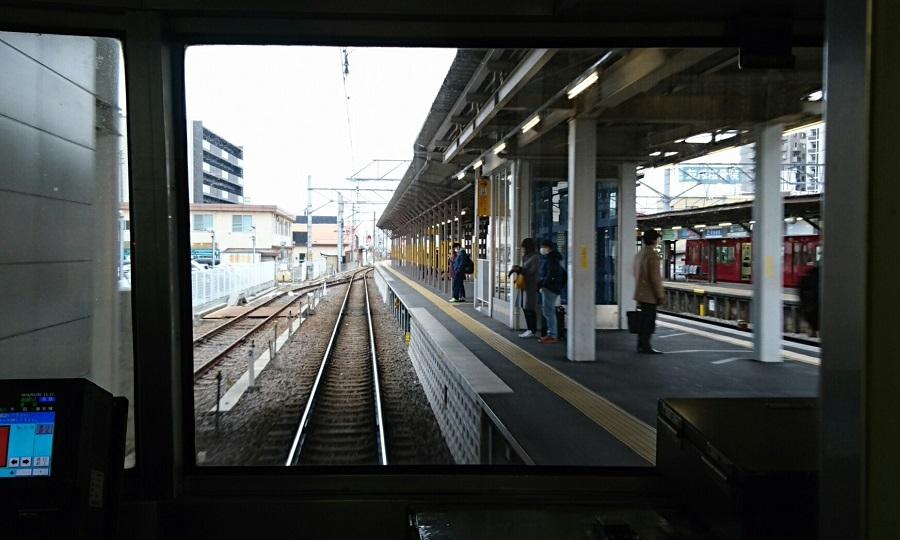 2018.2.5 三河線かえり (15) 東岡崎いきふつう - しんあんじょう 900-540