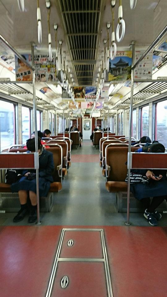 2018.2.5 三河線かえり (21) 西尾いきふつう - みなみあんじょう-古井間 540-960