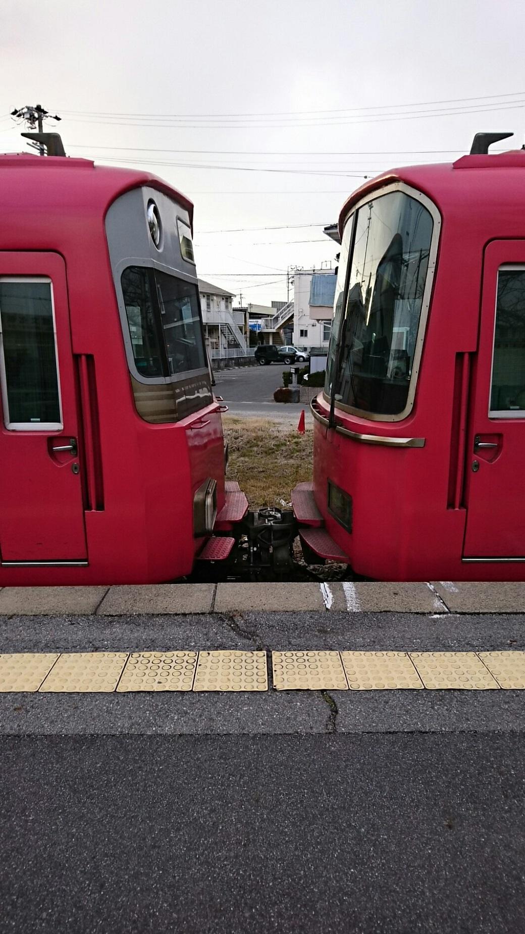 2018.2.5 三河線かえり (22) 古井 - 西尾いきふつう 1040-1850