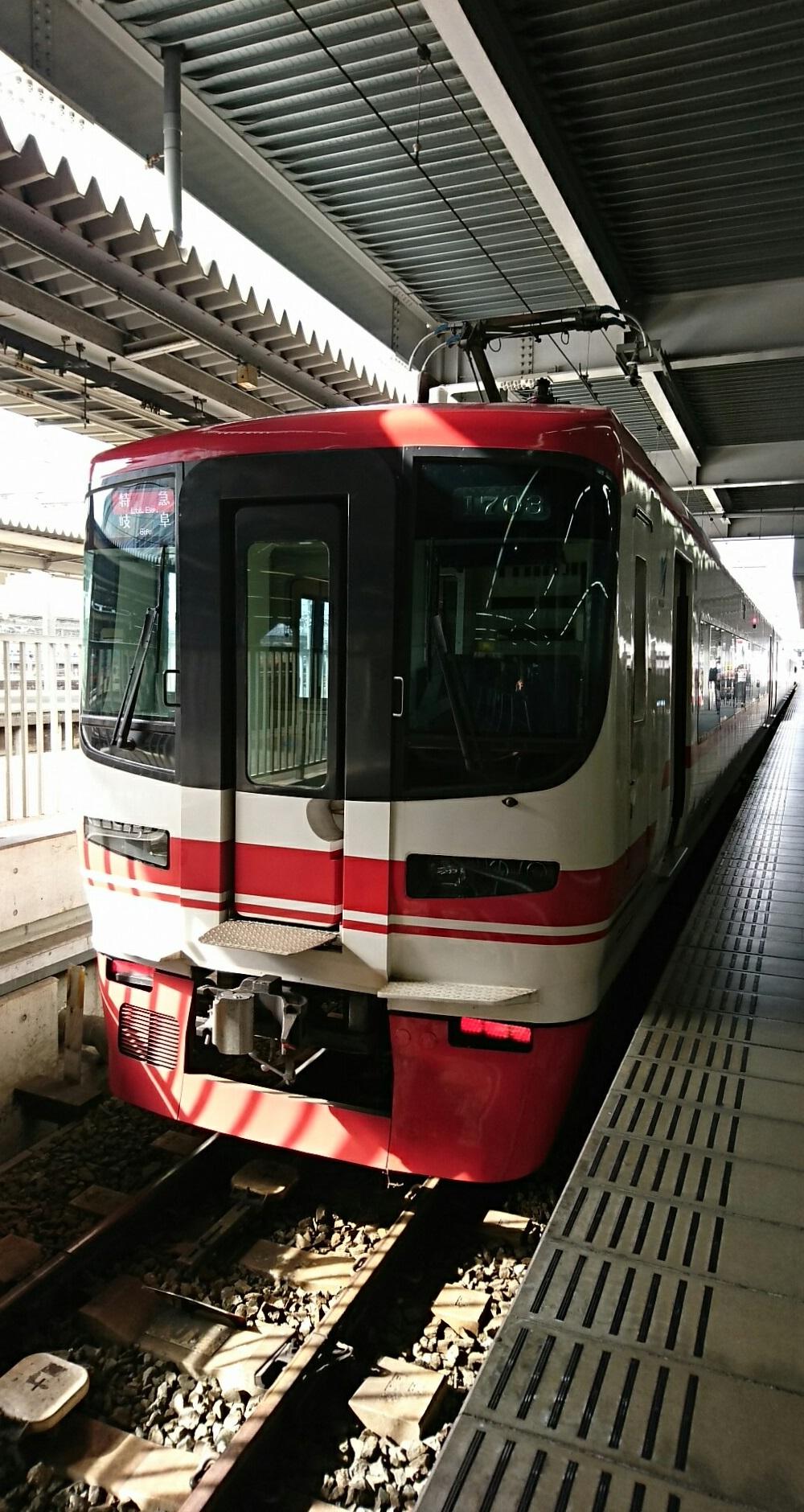2018.2.13 豊橋 (11) 豊橋 - 岐阜いき特急 1000-1880