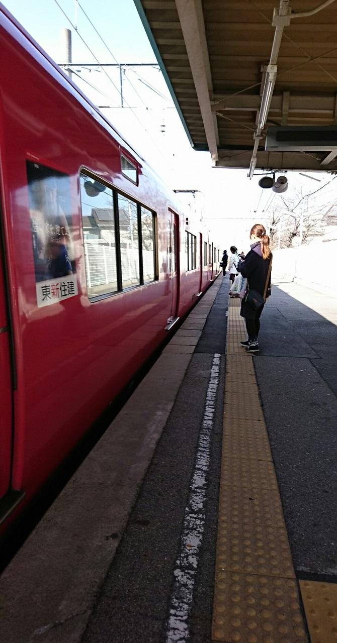 2018.2.16 西尾線 (1) 古井 - しんあんじょういきふつう 670-1280