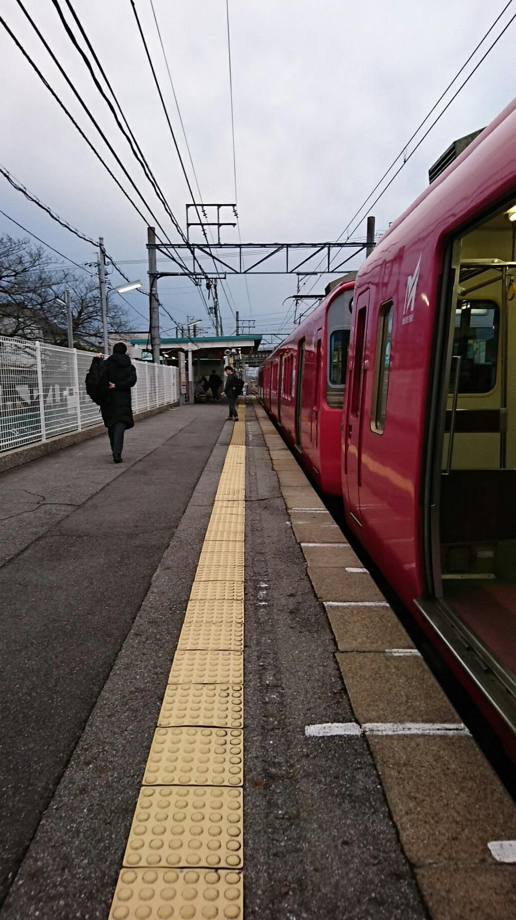 2018.2.16 西尾線 (5) 古井 - 西尾いきふつう 1020-1820
