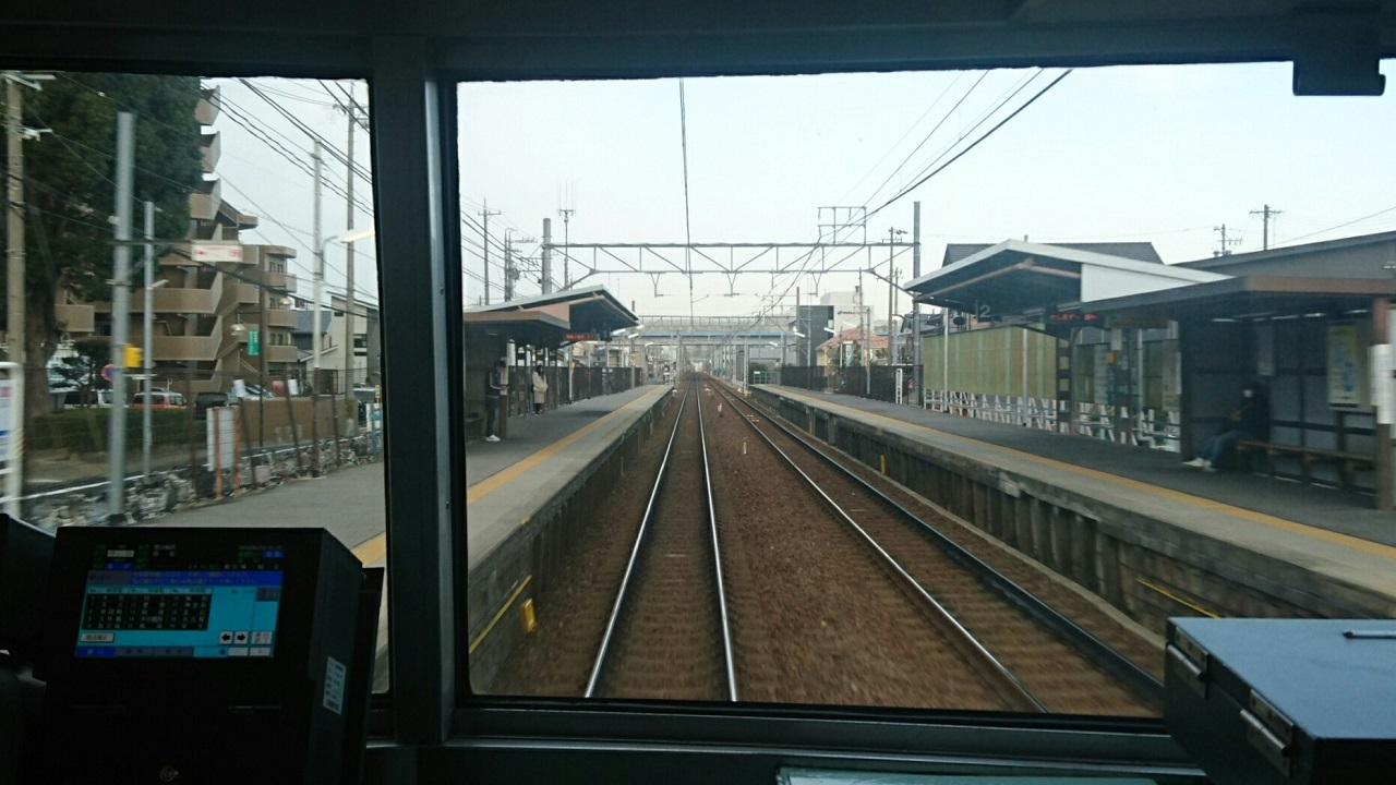2018.2.19 岐阜 (5) 弥富いき急行 - 牛田 1280-720
