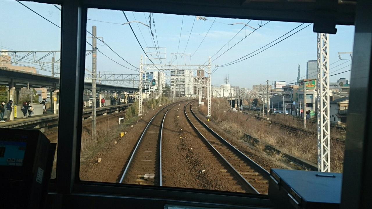2018.2.19 岐阜 (33) 弥富いき急行 - 金山-山王間 1280-720