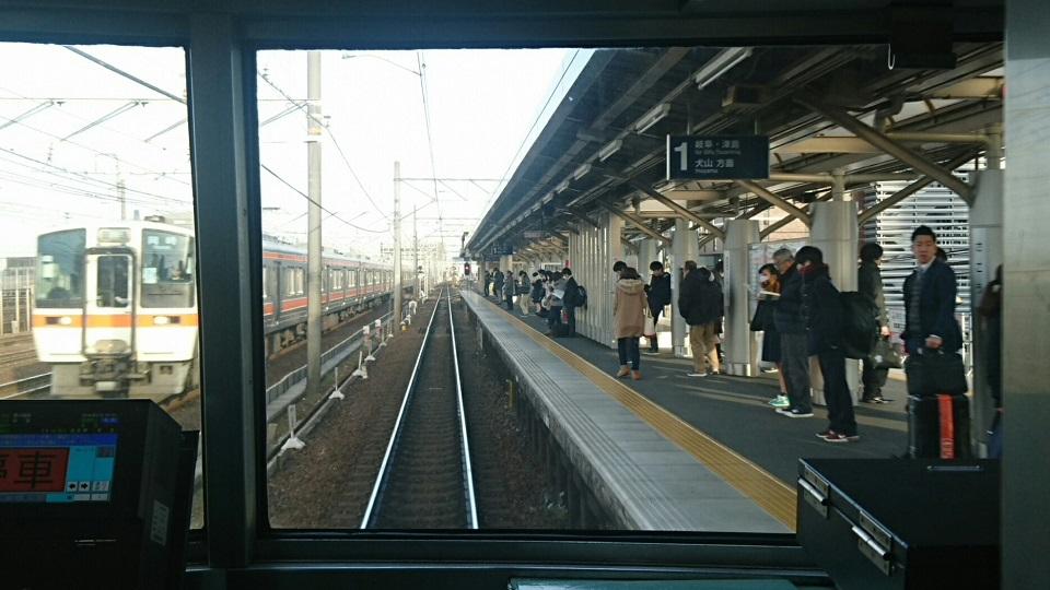 2018.2.19 岐阜 (38) 弥富いき急行 - 栄生 960-540