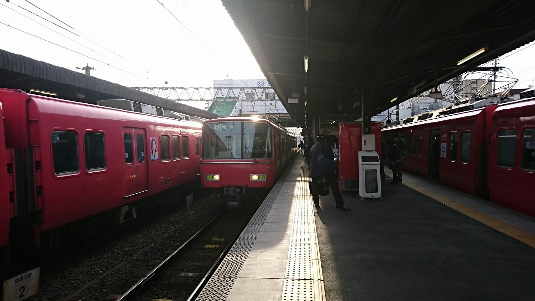 2018.2.19 岐阜 (53) 須ヶ口 - 岐阜いきふつう 1850-1040