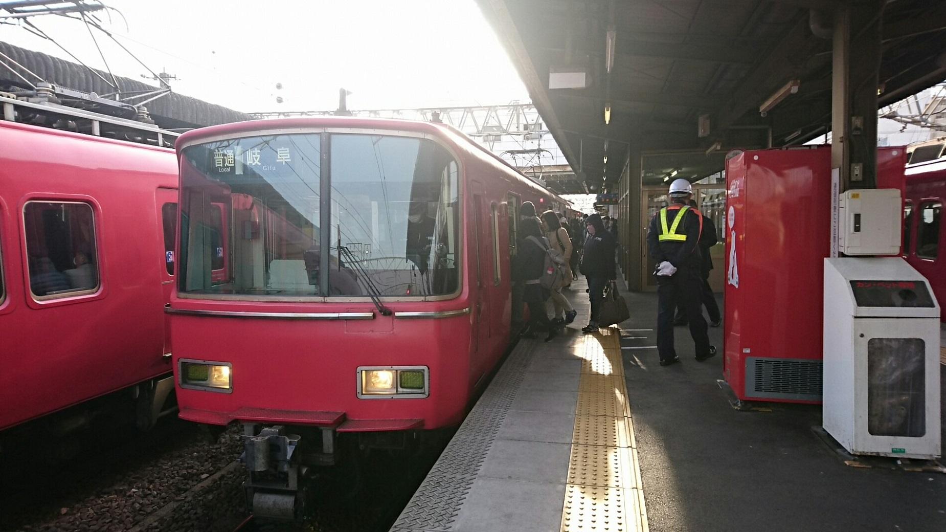 2018.2.19 岐阜 (54) 須ヶ口 - 岐阜いきふつう 1850-1040