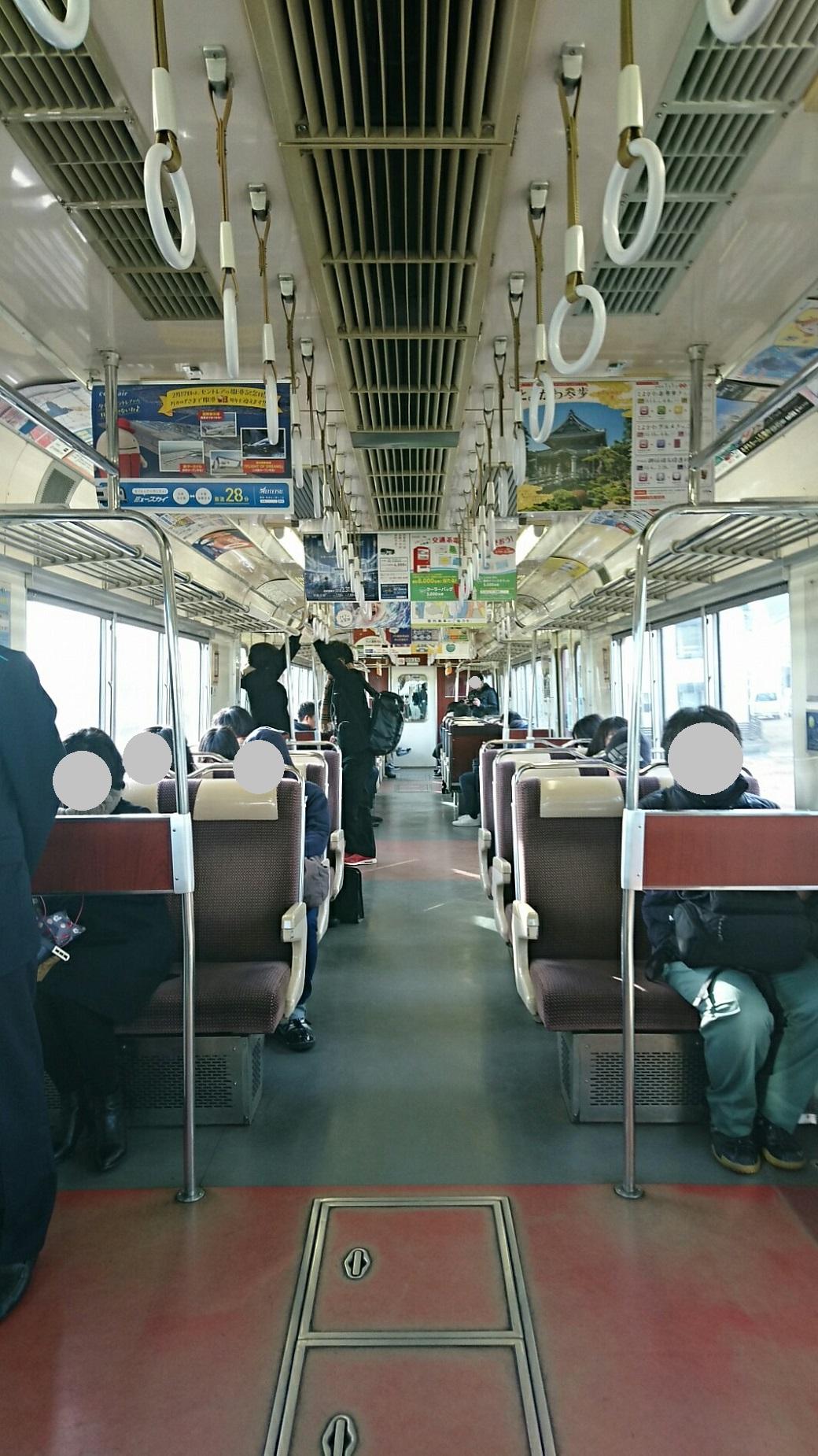 2018.2.19 岐阜 (57) 岐阜いきふつう - 丸の内 1040-1850