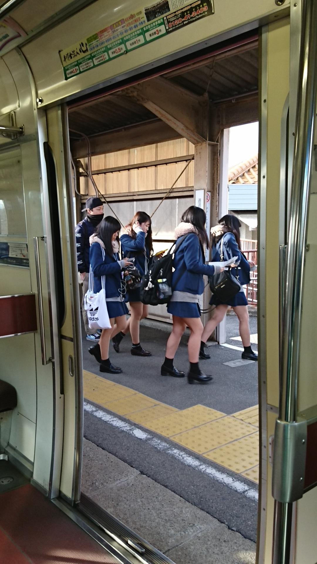 2018.2.19 岐阜 (65) 岐阜いきふつう - 奥田 1080-1920