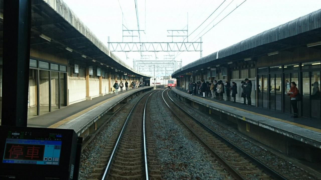 2018.2.19 岐阜 (73) 岐阜いきふつう - 妙興寺 1280-720