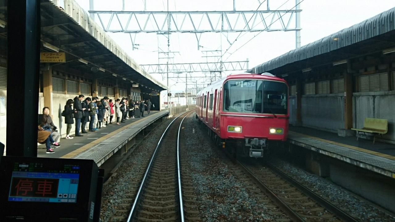 2018.2.19 岐阜 (74) 岐阜いきふつう - 妙興寺 1280-720