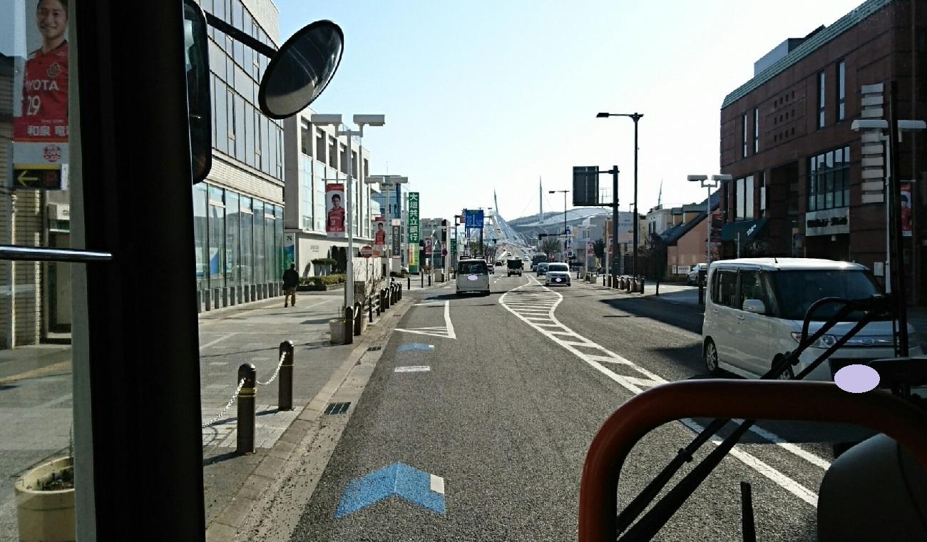 2018.2.27 (30) 中垣内いきバス - 喜多町4丁目バス停 1300-760