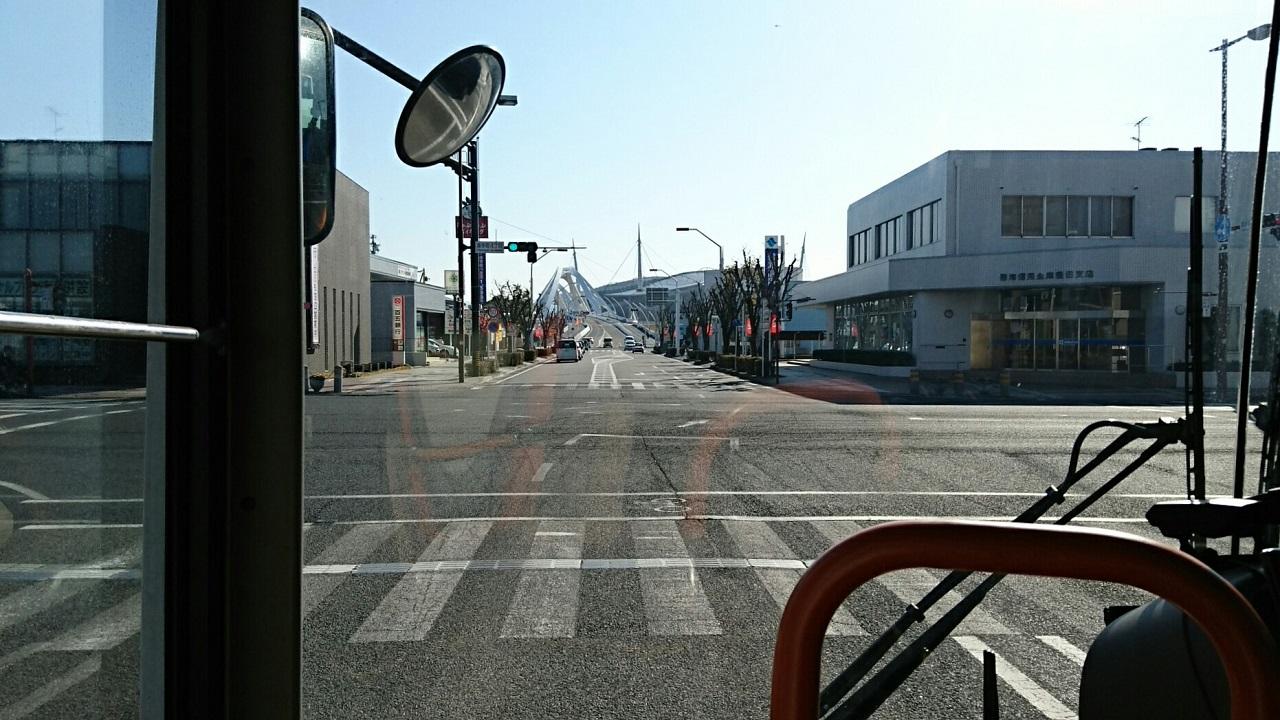 2018.2.27 (31) 中垣内いきバス - 喜多町4丁目交差点右折 1280-720