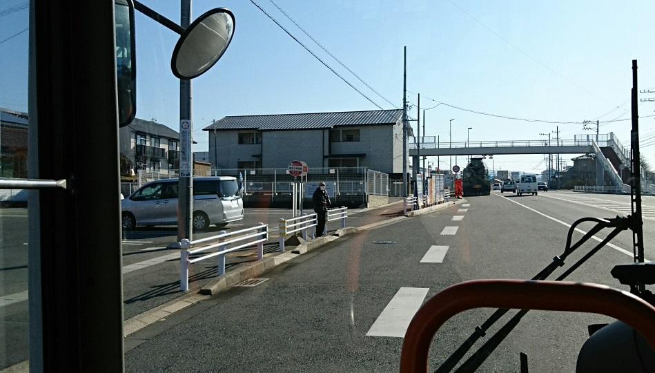 2018.2.27 (41) 中垣内いきバス - 野見小学校前バス停 950-540