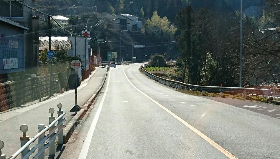 2018.2.27 (57) 中垣内いきバス - 鵜ケ瀬バス停 950-540