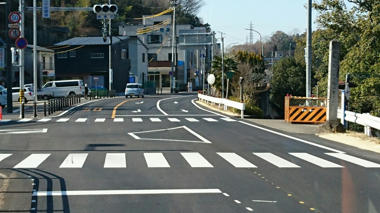 2018.2.27 (60) 中垣内いきバス - 九久平町簗場交差点 1280-720