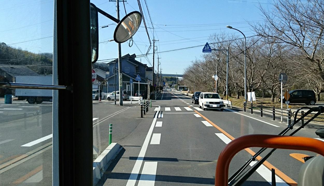 2018.2.27 (65) 中垣内いきバス - 九久平団地口バス停 1250-720