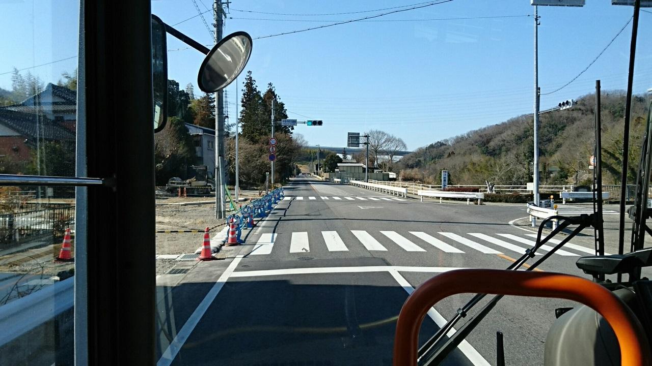2018.2.27 (66) 中垣内いきバス - 中垣内町元屋敷交差点 1280-720