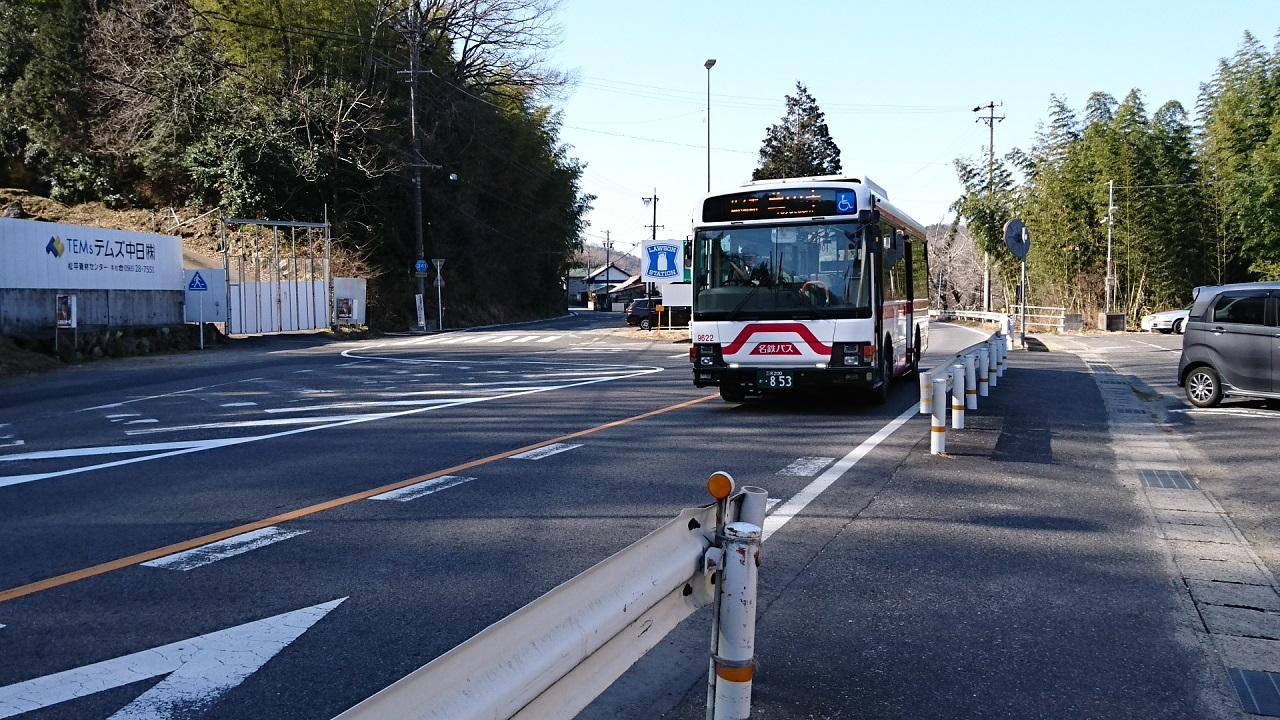 2018.2.27 (76) 中垣内バス停 - 豊田市いきバス 1280-720