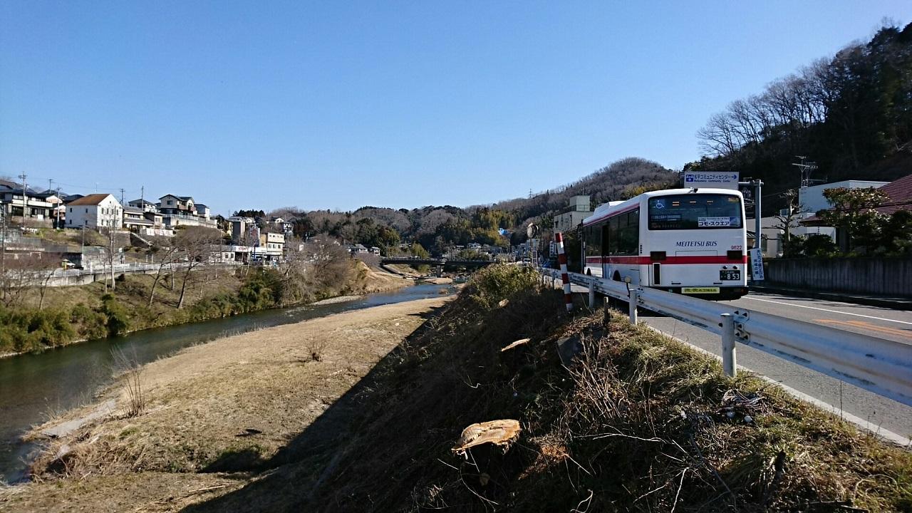 2018.2.27 (80) 松平支所前バス停 - 豊田市いきバス 1280-720