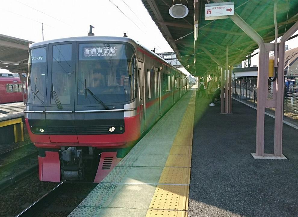 2018.3.4 (7) 矢作橋 - 東岡崎いきふつう 990-720