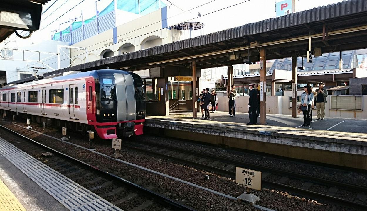 2018.3.4 (18) 東岡崎 - 岐阜いき特急と回送 1250-720