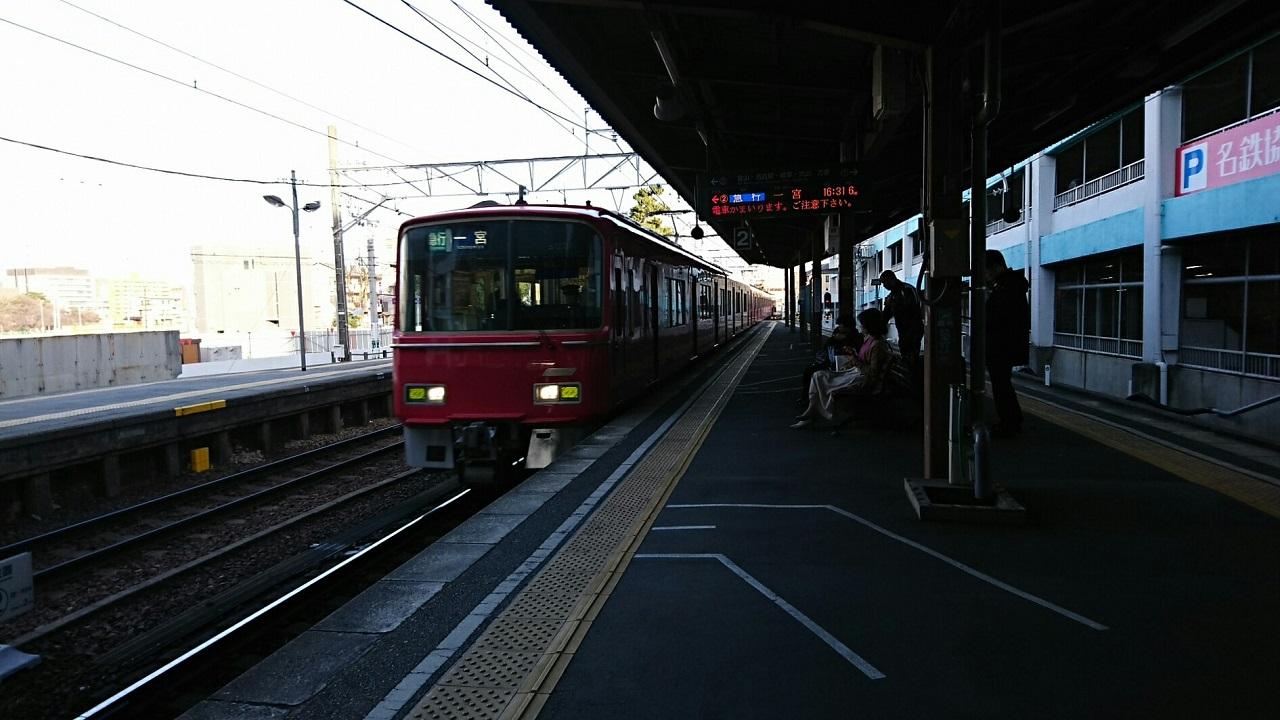 2018.3.4 (31) 東岡崎 - 一宮いき急行 1280-720