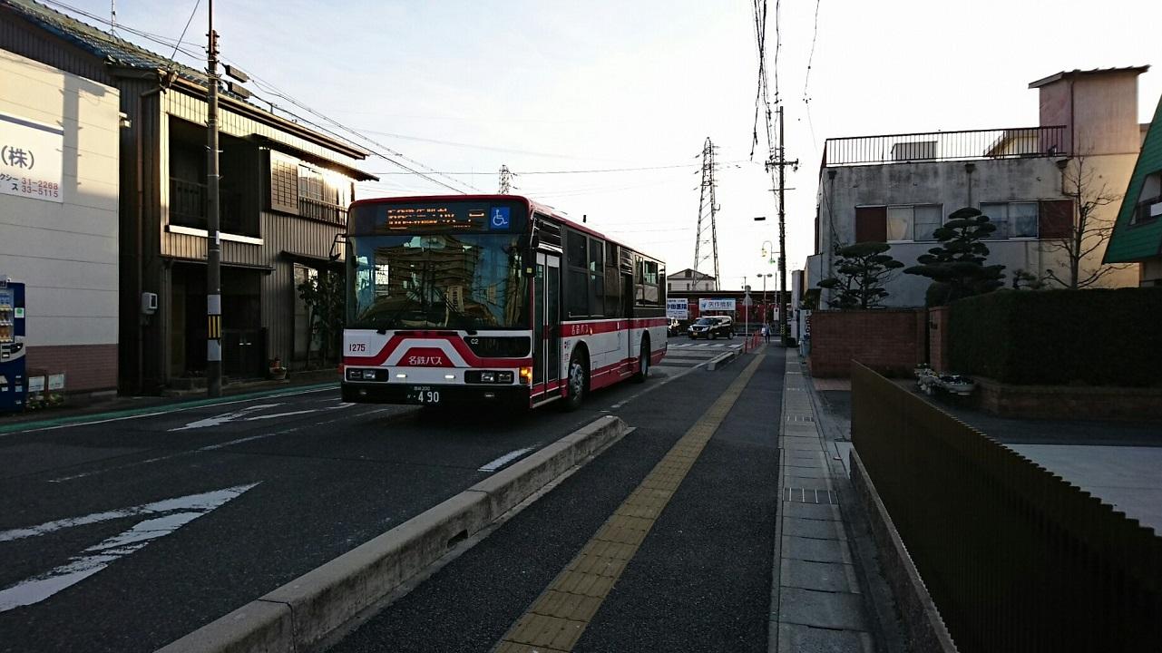 2018.3.4 (40) 矢作橋駅バス停 - 坂戸いきバス 1280-720
