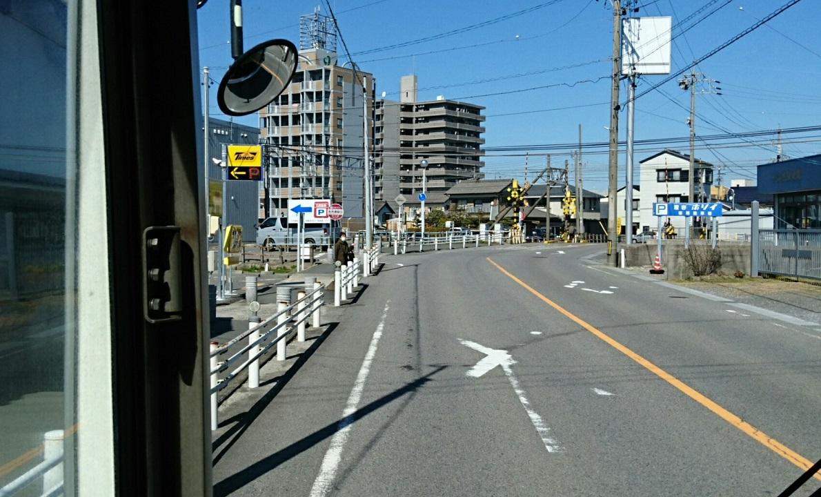 2018.3.6 坂戸 (44) 名鉄バス - 矢作橋駅口バス停 1190-720