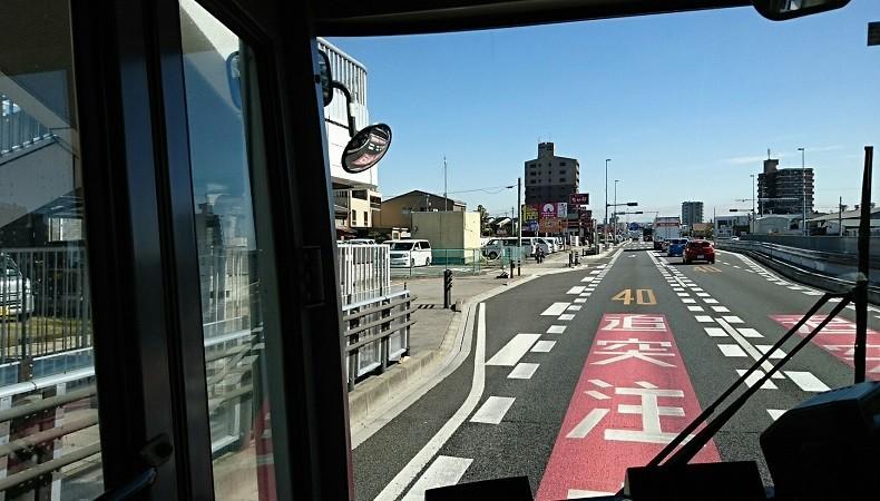 2018.3.6 坂戸 (49) 名鉄バス - 矢作バス停 790-450