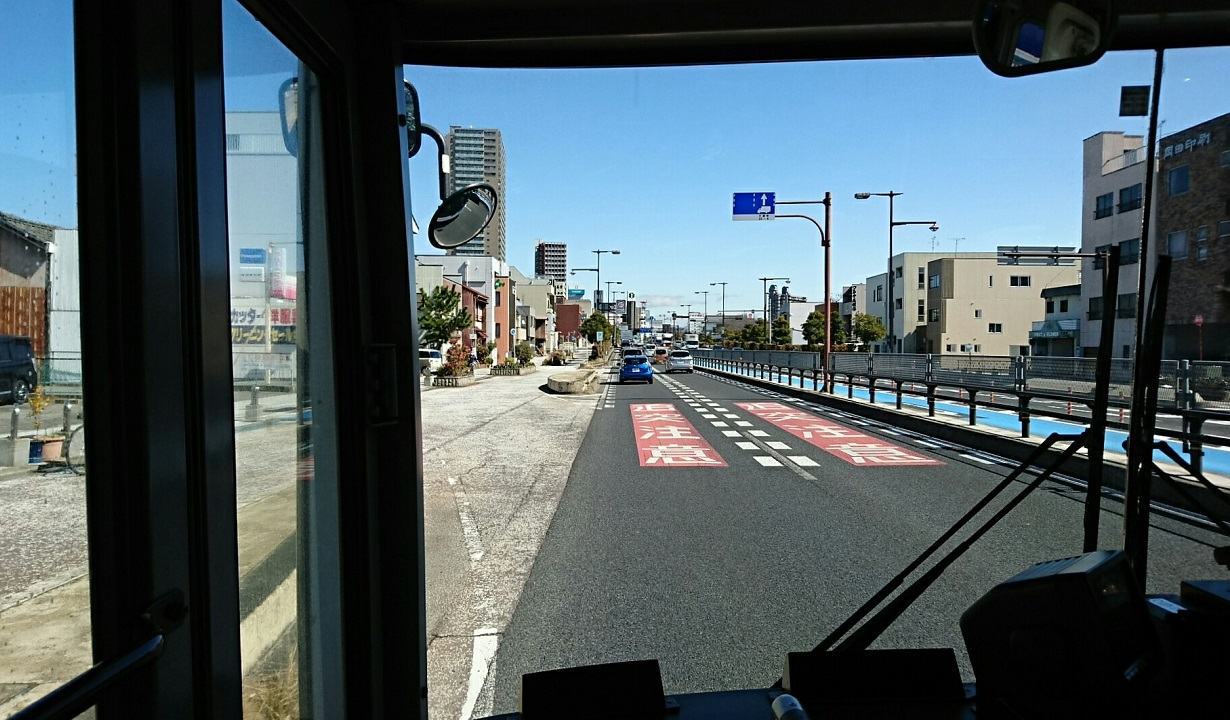 2018.3.6 坂戸 (53) 名鉄バス - 板屋町口バス停 1230-720
