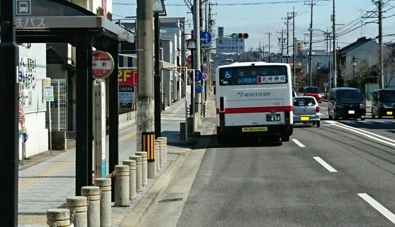 2018.3.6 坂戸 (68) 名鉄バス - 中町バス停 940-540