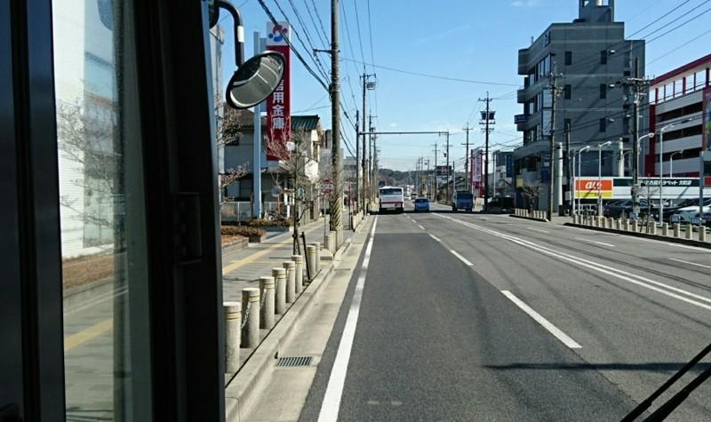 2018.3.6 坂戸 (70) 名鉄バス - 西欠町バス停 910-540
