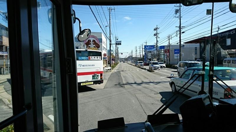 2018.3.6 坂戸 (73) 名鉄バス - 欠町広見通西交差点左折 960-540