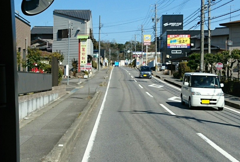 2018.3.6 坂戸 (85) 名鉄バス - 岡崎東病院前バス停 800-540