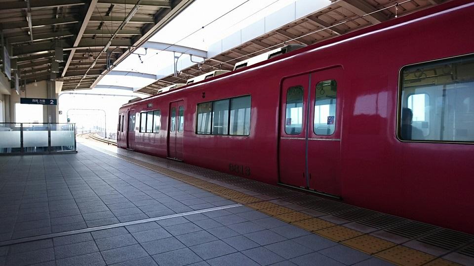 2018.3.10 東幡豆 (2) 桜井 - 西尾いきふつう 960-540