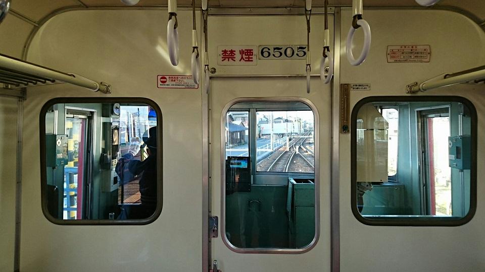2018.3.10 東幡豆 (19) 佐屋いき準急 - 吉良吉田 960-540