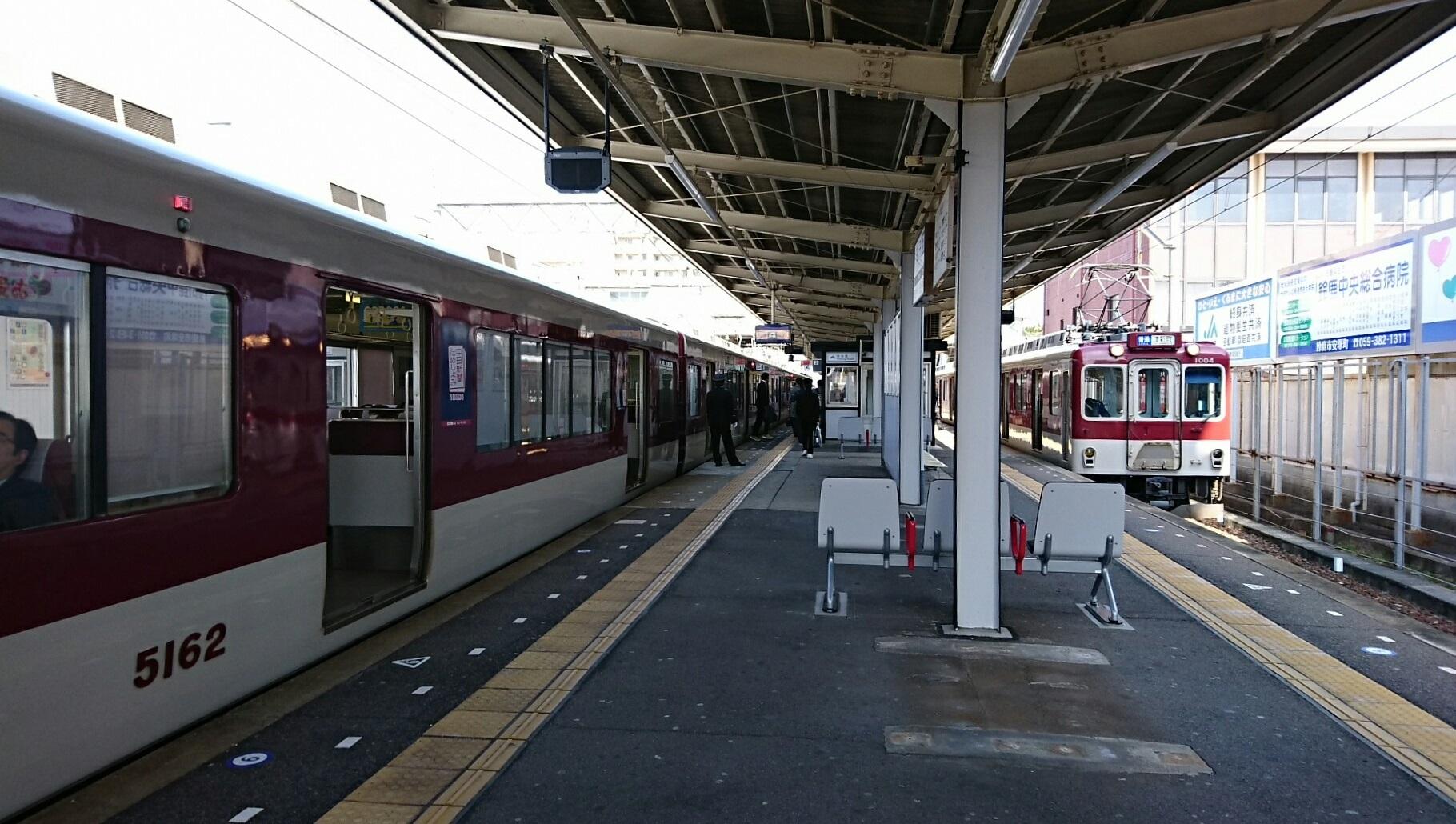 2018.3.13 白子 (42) 白子 - 松阪いき急行と津新町いきふつう 1820-1030