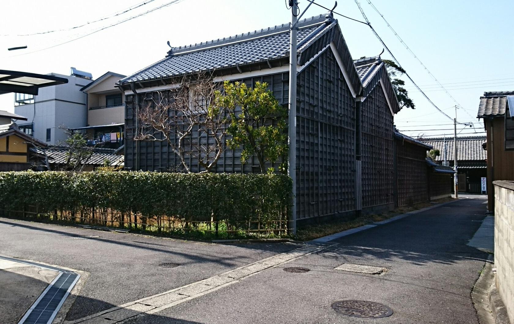 2018.3.13 白子 (60) 白子 - 伊勢型紙資料館(うら) 1680-1060