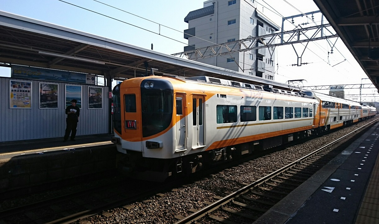 2018.3.13 白子 (68) 白子 - 賢島いき特急 1220-720
