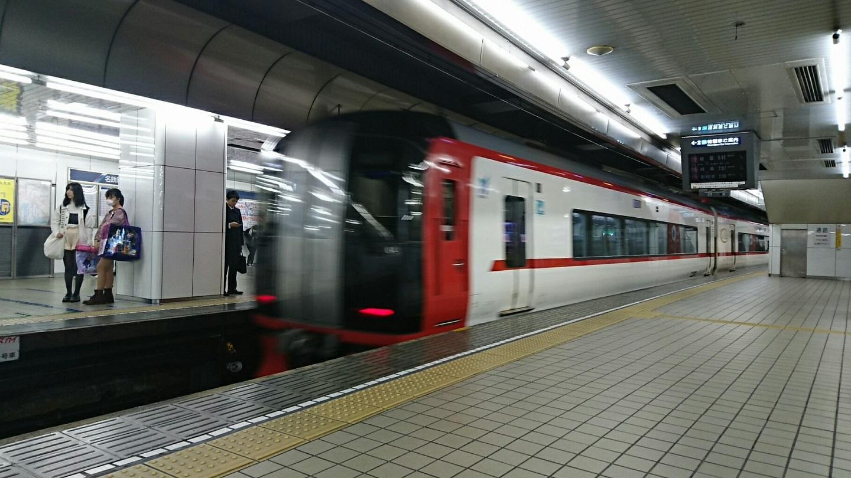 2018.3.14 名古屋 (16) 名古屋 - 岐阜いき特急 1440-810