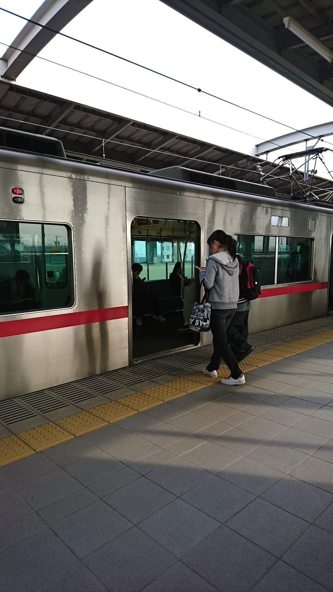 2018.3.15 名鉄 (4) 桜井 - 佐屋いき急行(5002編成4両) 1080-1920