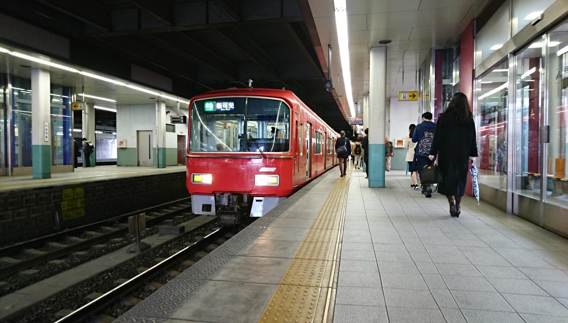 2018.3.20 有松 (7) 金山 - 新可児いき準急(3205) 1900-1080