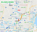 叡山電鉄の路線図(あきひこ) 630-550