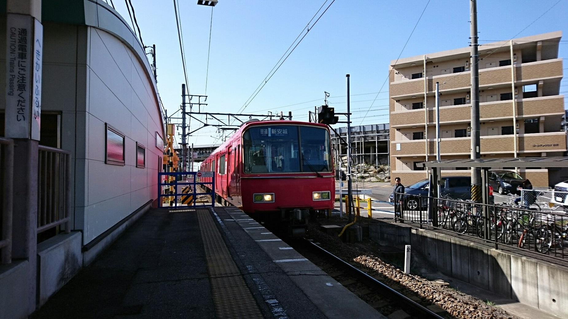 2018.3.23 東海道線 (1) 古井 - しんあんじょういきふつう 1850-1040