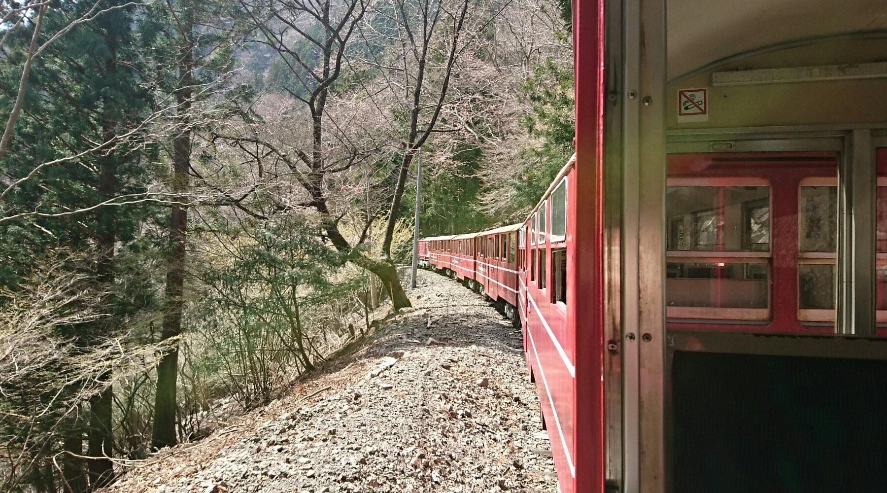 2018.3.28 かえり (5) 千頭いき列車 - 千頭-閑蔵間 1800-1000