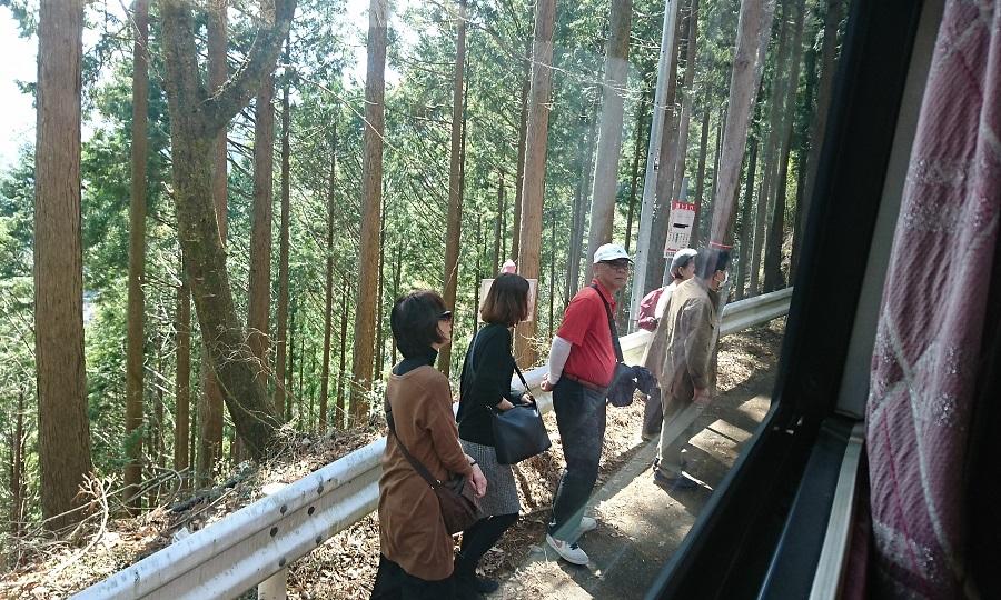 2018.3.28 かえり (14) 千頭いきバス - 湖上入口バス停 900-540