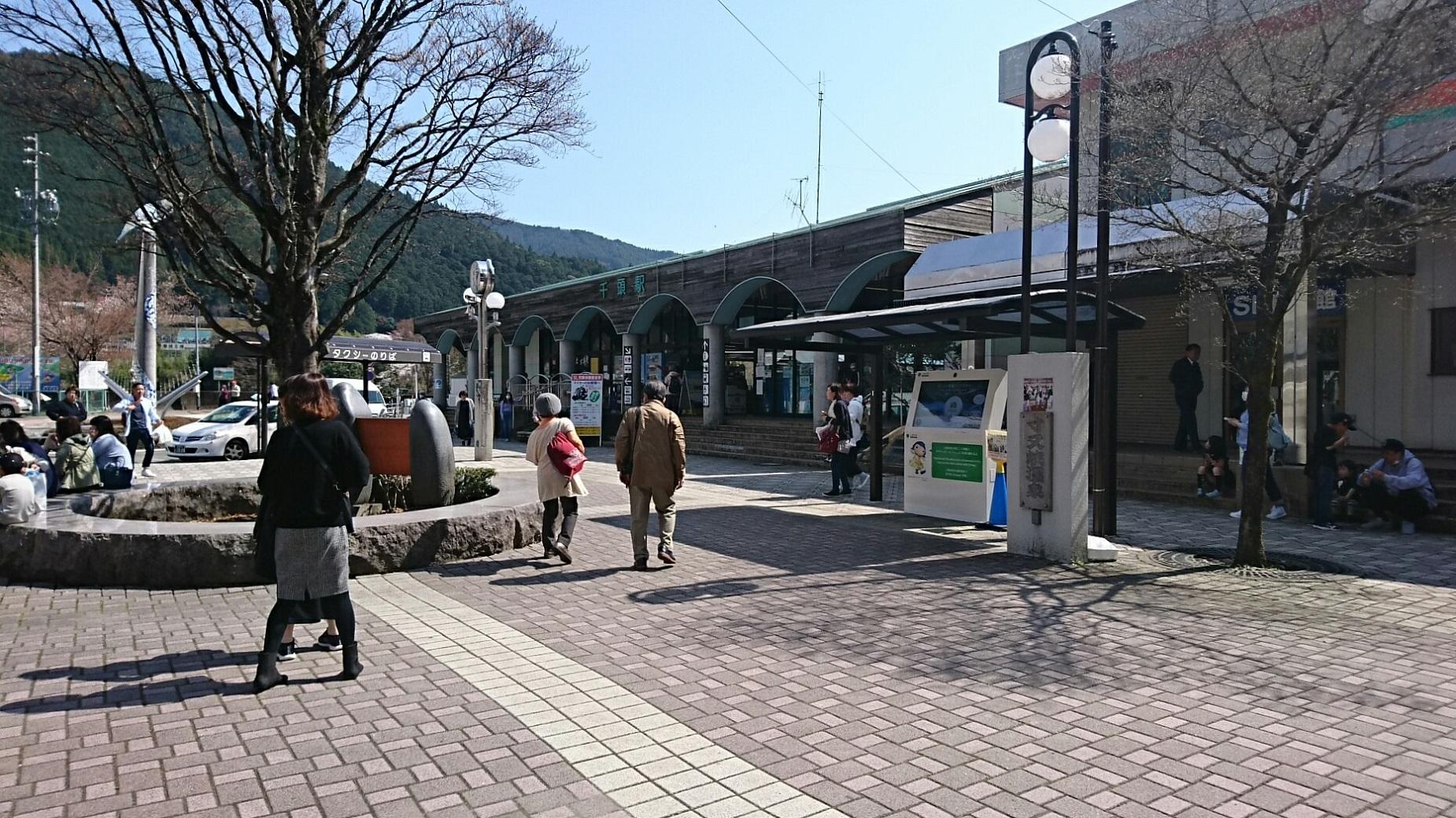 2018.3.28 かえり (22) 千頭 - 駅舎 1850-1040