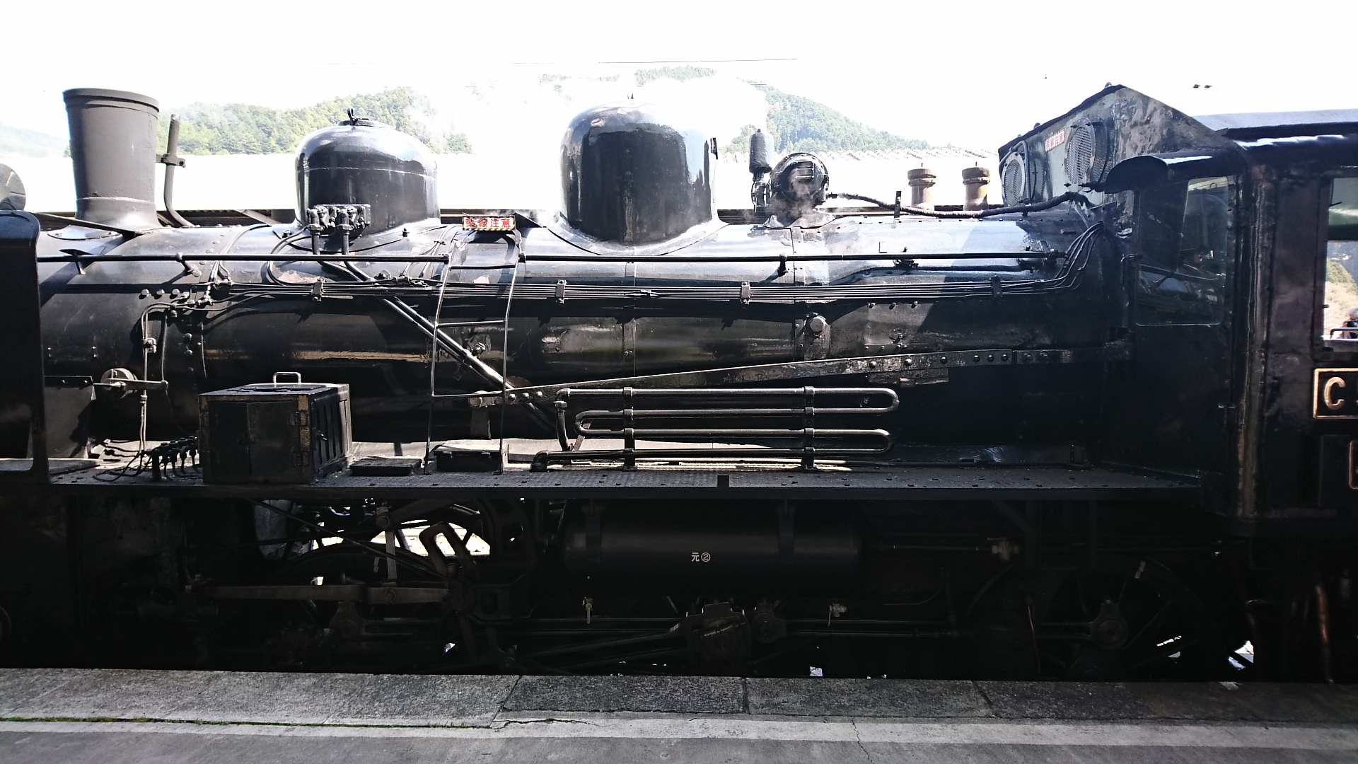 2018.3.28 かえり (26) 千頭 - 蒸気機関車(C5644) 1920-1080